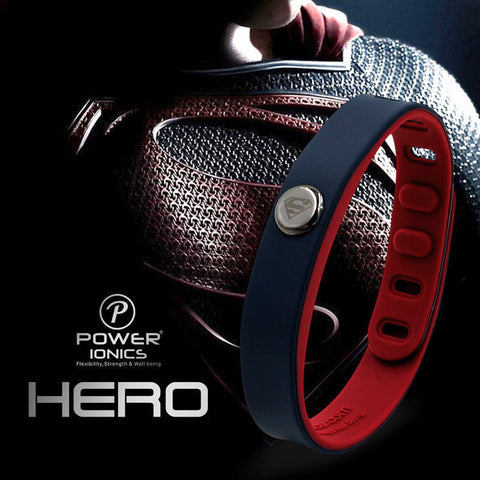 SUPERHERO Powered Ionics Wristband