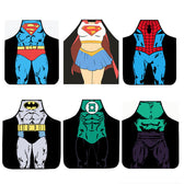SUPERHERO Sleeveless Aprons