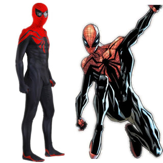 Superior SPIDERMAN Cosplay Costume for Men