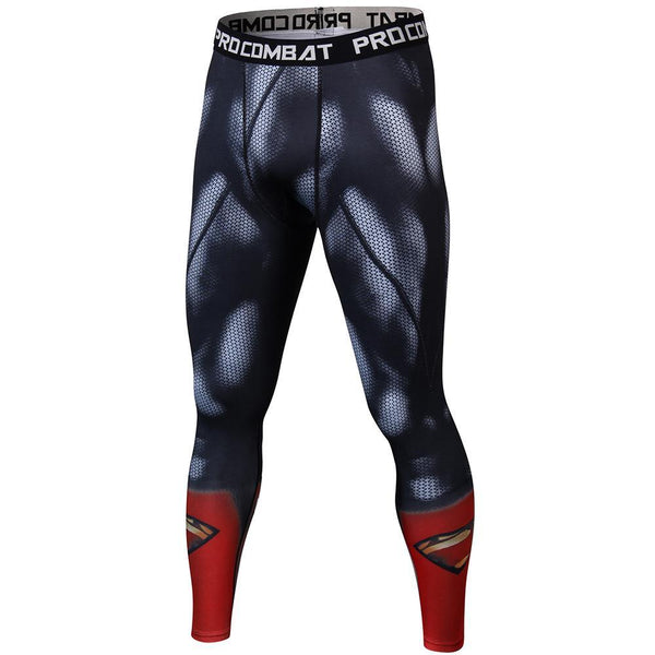 SUPERMAN Compression Leggings for Men