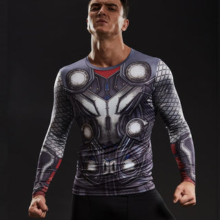 THOR Compression Shirt for Men (Long Sleeve)