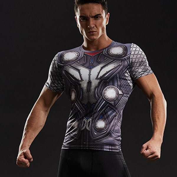 THOR Ragnarok Compression Shirt for Men (Short Sleeve)