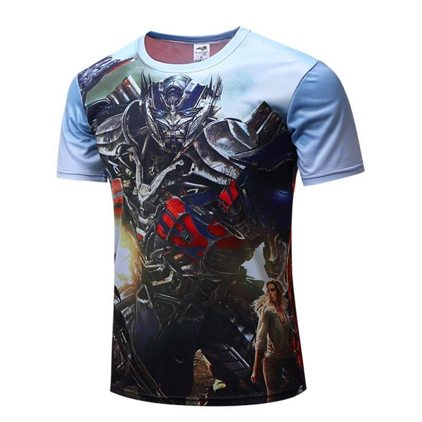 TRANSFORMER Compression Shirt for Men (Short Sleeve)