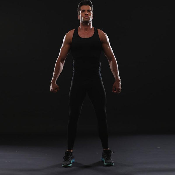 Universal BLACK Compression Leggings for Men