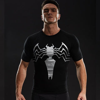 VENOM Compression Shirt for Men (Short Sleeve)