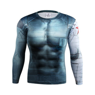 WINTER SOLIDER Compression Shirt