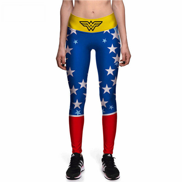 WONDER WOMAN Compression Leggings