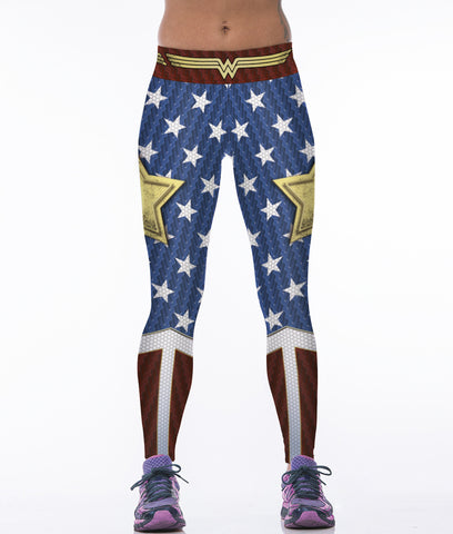 WONDER WOMAN Compression Leggings/Pants for Women