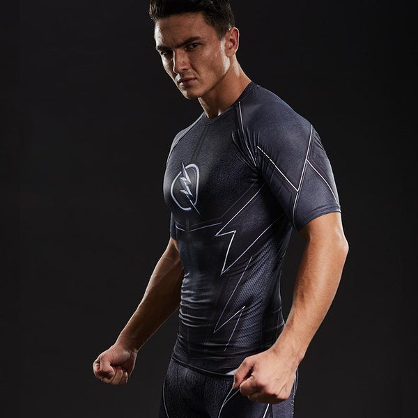 ZOOM Compression Shirt for Men (Short Sleeve)