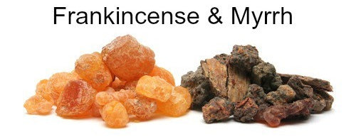 Frankinscence and myrrh resin