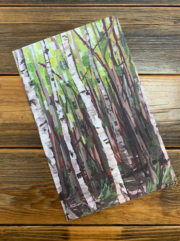 Parry Island Spring Birches Notebook