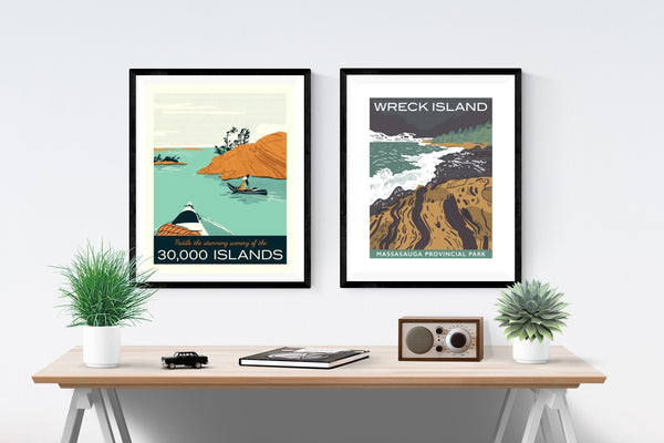 Paddle the 30,000 Islands Poster