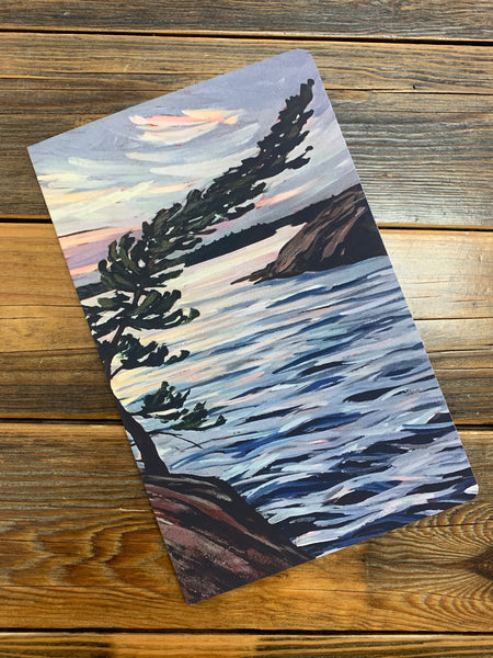 Passage Island Windswept Notebook