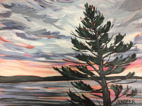 Big Sound Sunset Painting Class, Monday August 20, 6:00pm-9:00pm