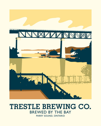 Trestle Brewing Company Poster