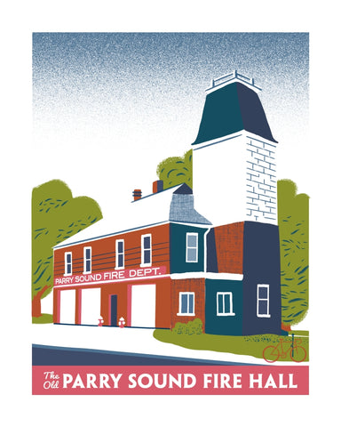 Parry Sound Old Firehall Poster