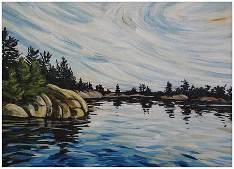 French River Provincial Park 2 Painting Postcard
