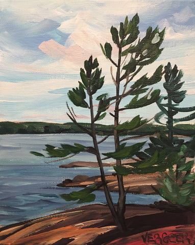 Georgian Shoreline Painting Class, Tuesday July 31, 10am-Noon