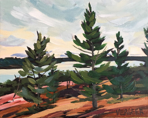 Harold Point Rocks Painting Class, Tuesday July 24, 10am-Noon