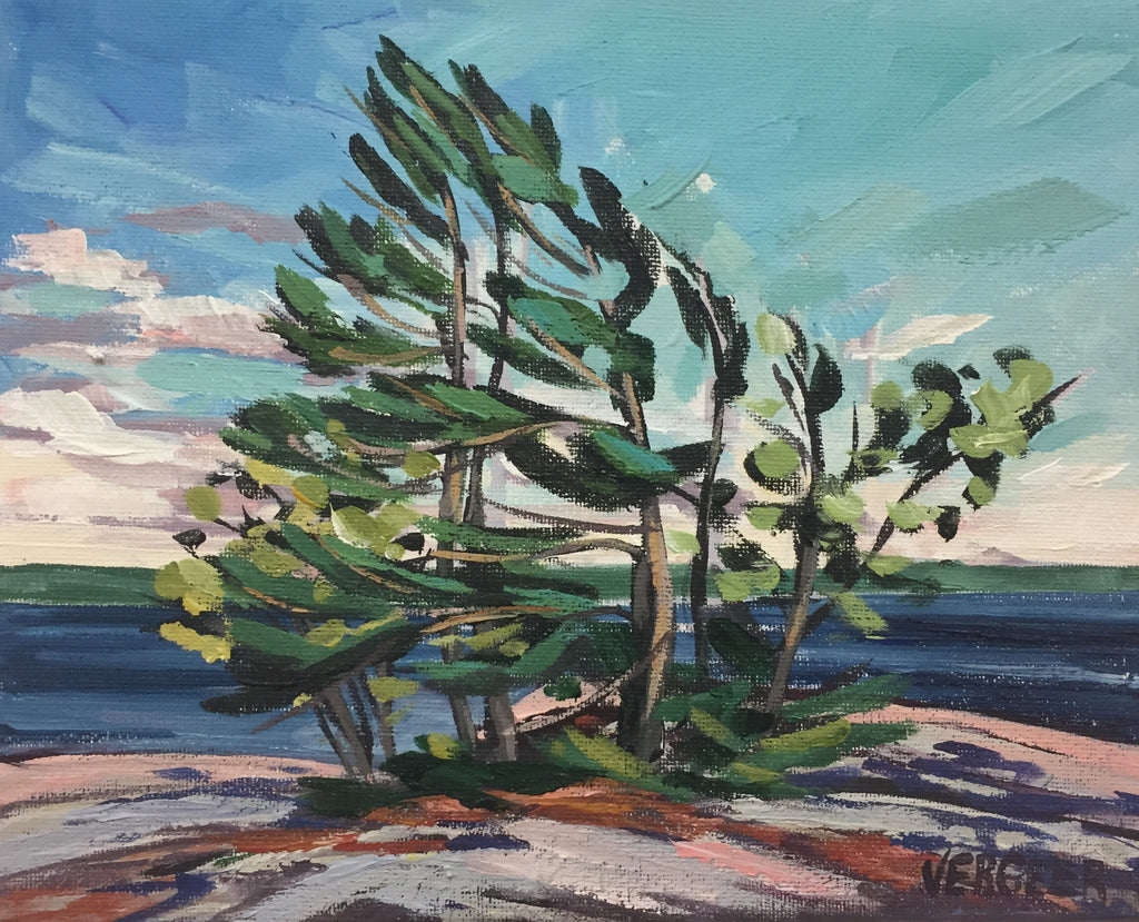 Harold Point Trees Painting Class, Tuesday August 20, 10am - Noon