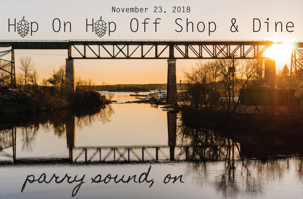 Hop On Hop Off Women's Night in Parry Sound - Friday November 23, 2018