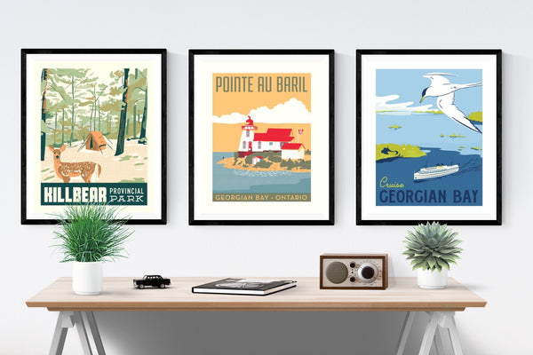 Cruise Georgian Bay Poster