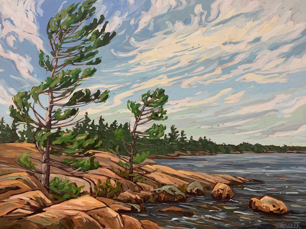 Killbear Park Harold Point Canvas Print