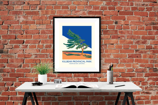 Killbear Provincial Park Windswept Tree Poster