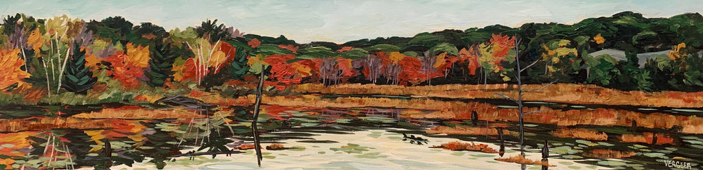 Near Blackstone Lake Series - 12x48