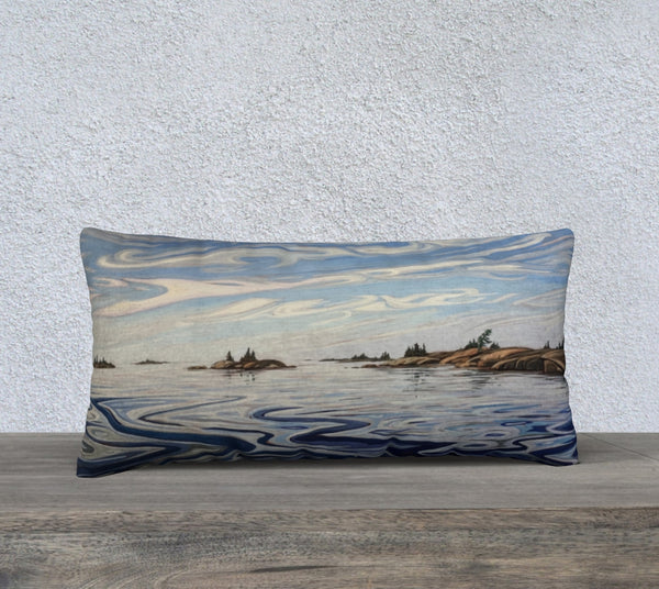 Outer Fox Islands 24x12 Cotton Canvas Throw Pillow (Pre-Order for Late June 2021)