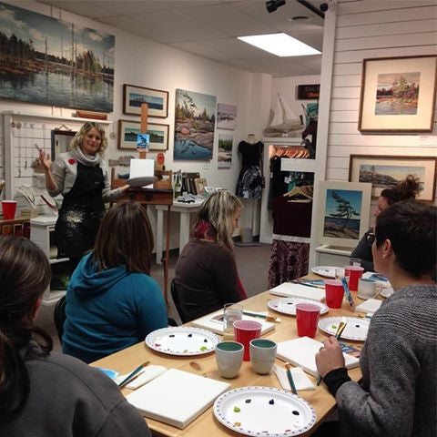 Private Painting Class Registration