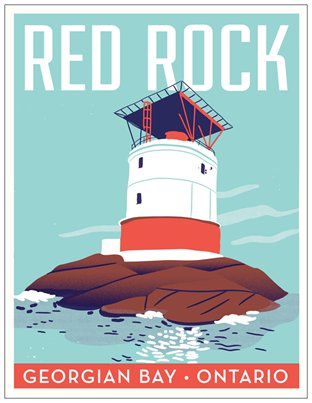 Red Rock Travel Postcard