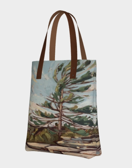 Rugged Trail Windswept Premium Lined Tote Bag (Pre-Order for Late June 2021)