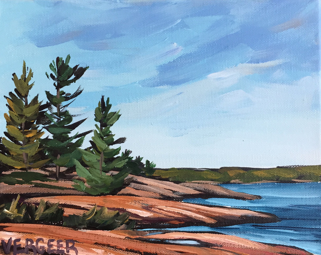 Twin Points Trail Painting Class, Tuesday August 27, 10am - Noon