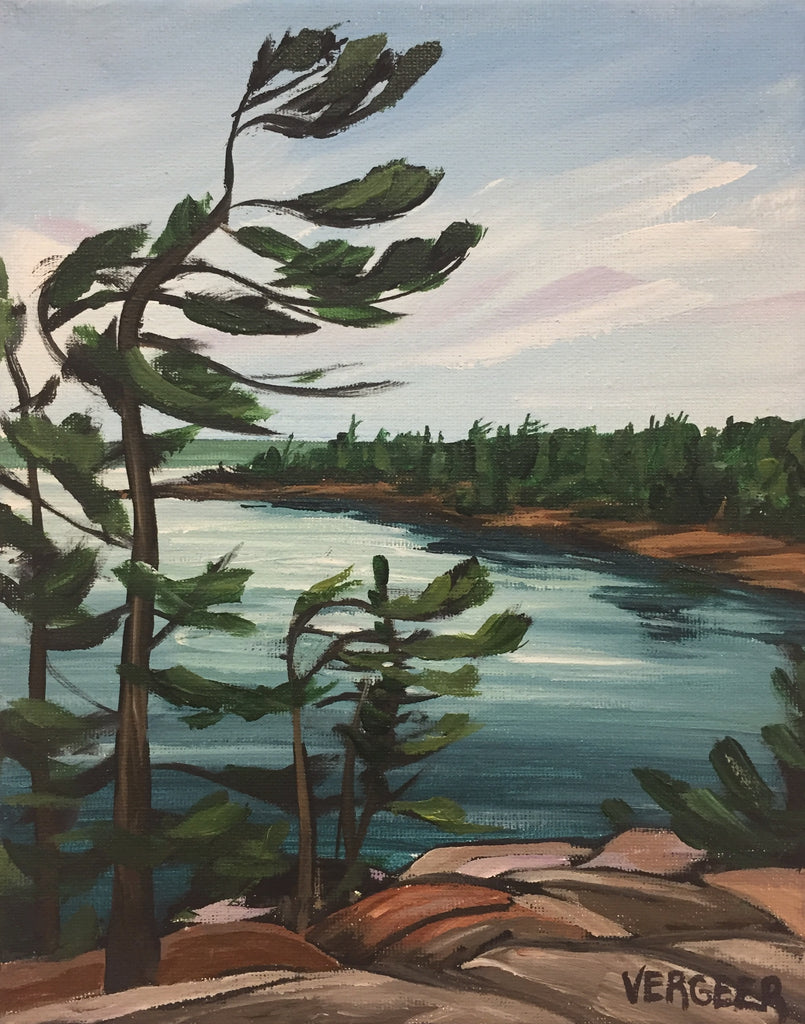 View from the Jumping Rocks Painting Class, Tuesday July 23, 10am - Noon