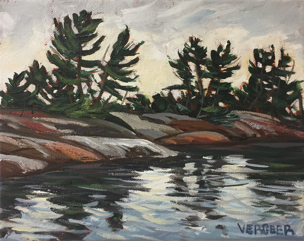French River Provincial Park Shoreline, Thursday May 24, 6-8 PM