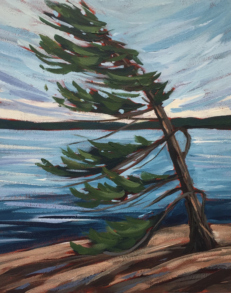 Harold Point Windswept Painting Class, Tuesday April 30, 10am - Noon