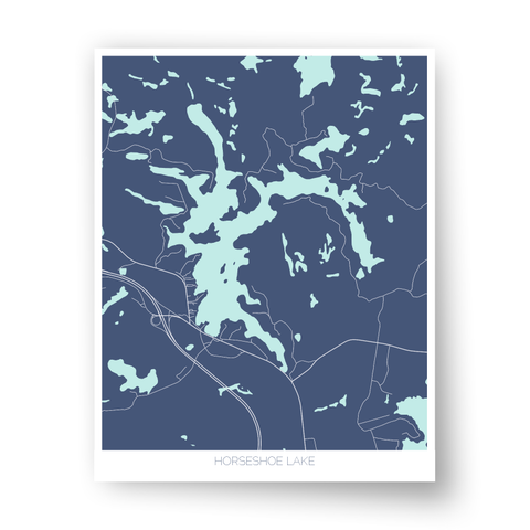 Horseshoe Lake Art Map