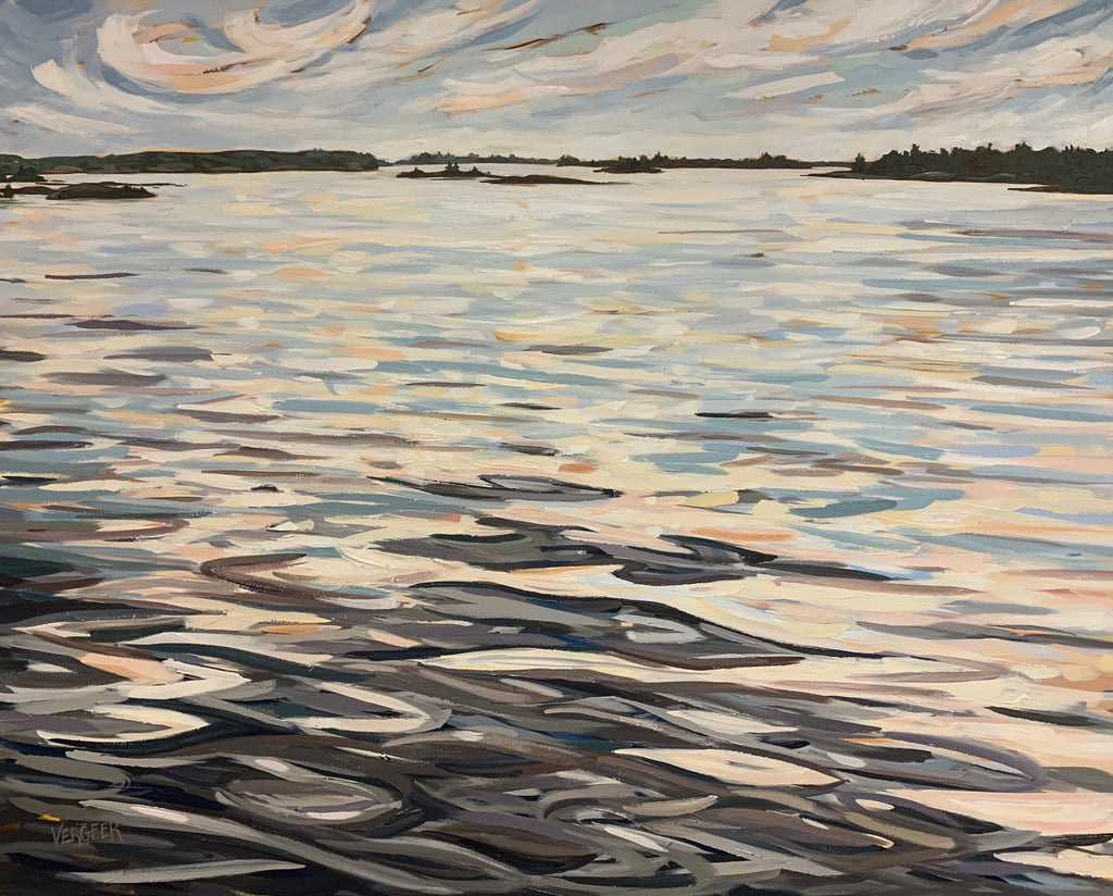 French River Provincial Park Island Series - 48x60