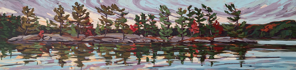 Healey Lake Shoreline - 12x48