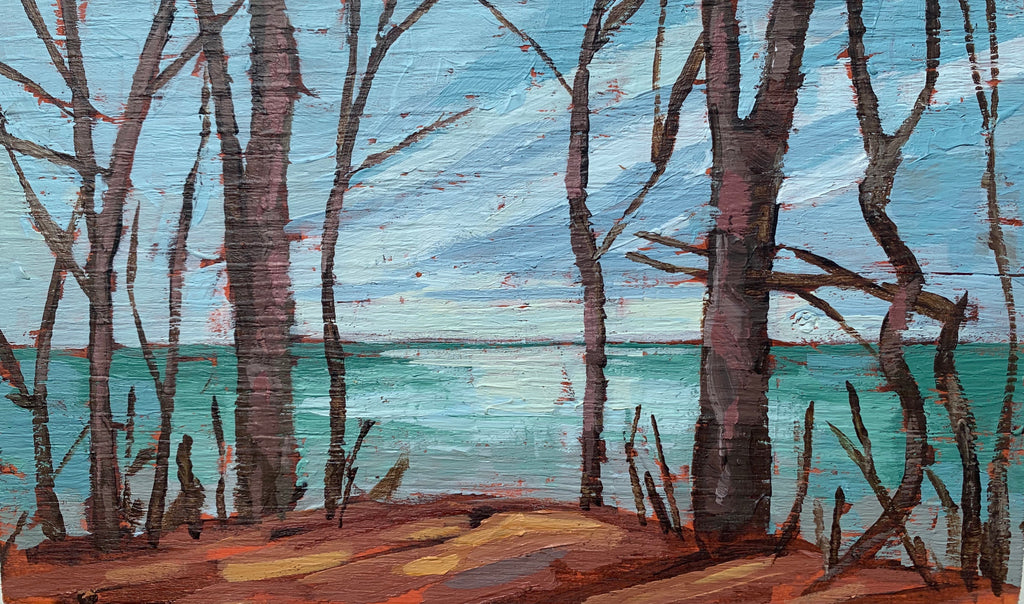 Lake Erie Lookout 2 Miniature Painting