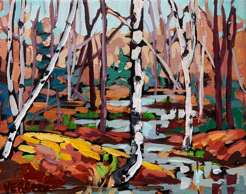 Long Lake Birch Series - 8x10
