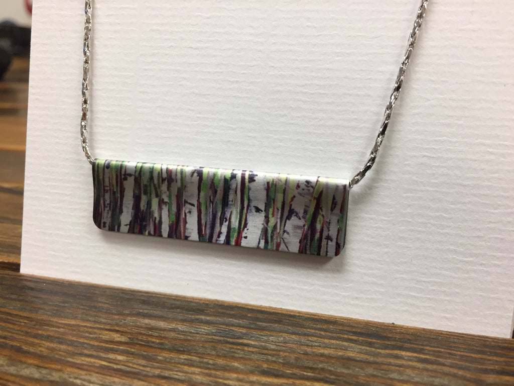 Parry Island Spring Birches Necklace