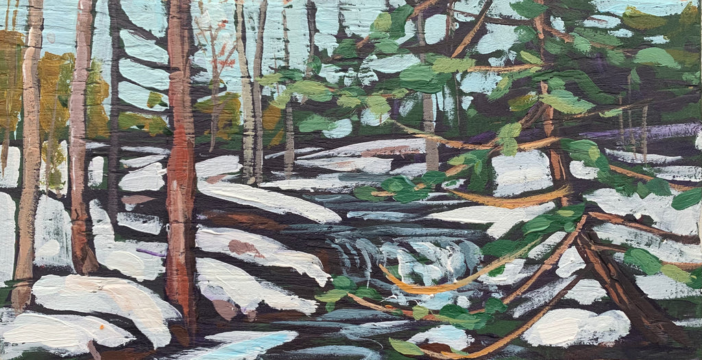 Thunder Creek Winter Series 1 Miniature Painting