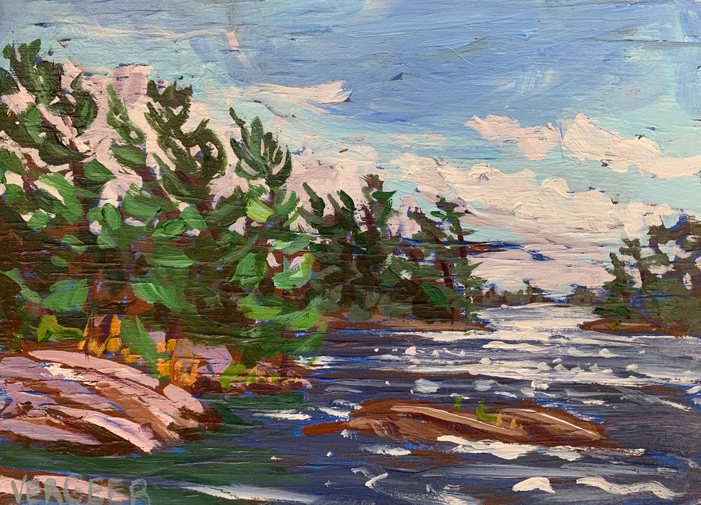 Green Cay 2 Miniature Painting