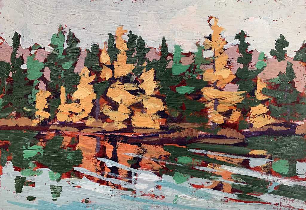 Algonquin Colours Miniature Painting