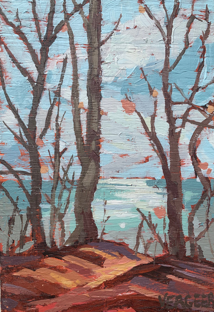 Lake Erie Lookout 1 Miniature Painting