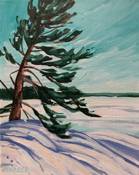 Winter Windswept - 8x10
