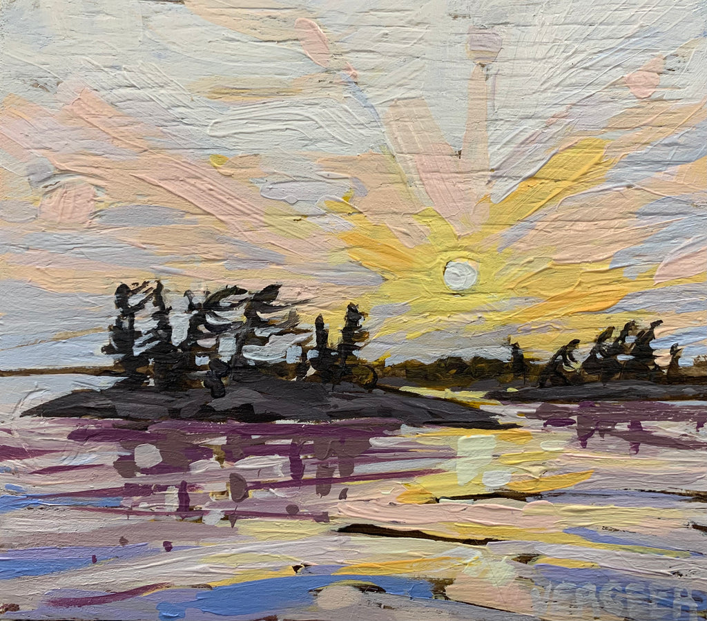 Corbman Point Sunset Series 1 Miniature Painting