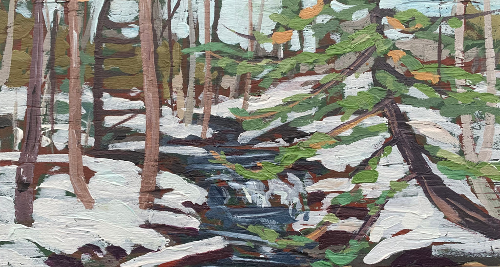 Thunder Creek Winter Series 2 Miniature Painting